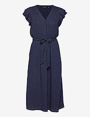 Lauren Ralph Lauren - Batik Georgette Dress - robes d'été - french navy/pale - 1