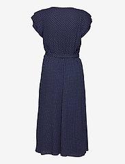 Lauren Ralph Lauren - Batik Georgette Dress - robes d'été - french navy/pale - 2