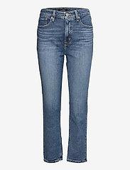 Lauren Ralph Lauren - High-Rise Straight Ankle Jean - straight jeans - legacy wash - 0