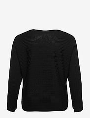 Lauren Ralph Lauren - Cable-Knit Boatneck Sweater - trøjer - polo black - 1