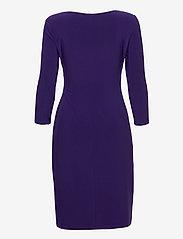Lauren Ralph Lauren - Wrap-Front Jersey Dress - stramme kjoler - deep ultraviolet - 2