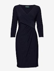 Jersey Surplice Dress - LIGHTHOUSE NAVY