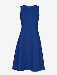 Lauren Ralph Lauren - BASKETWEAVE PONTE-DRESS - juhlamekot - french blue - 0