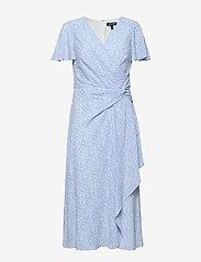 Lauren Ralph Lauren - Print Crepe Dress - wrap dresses - eos blue/colonial - 0