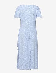Lauren Ralph Lauren - Print Crepe Dress - wrap dresses - eos blue/colonial - 1