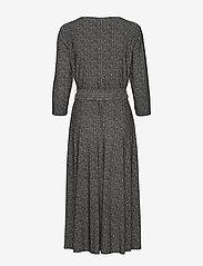 Lauren Ralph Lauren - PRINTED MATTE JRSY-DRESS - wrap dresses - sparkling champag - 1