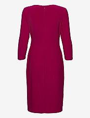 Lauren Ralph Lauren - Wrap-Style Jersey Dress - midi kjoler - modern dahlia - 2
