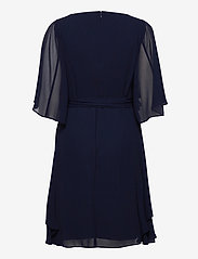 Lauren Ralph Lauren - Ruffle-Sleeve Georgette Dress - cocktailkjoler - lighthouse navy - 1