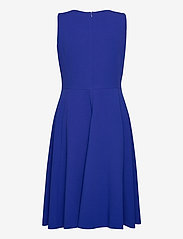 Lauren Ralph Lauren - Crepe Fit-and-Flare Dress - robes de cocktail - french ultramarin - 1