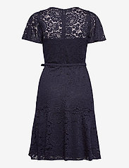 Lauren Ralph Lauren - Belted Lace Dress - cocktailkjoler - lighthouse navy - 2