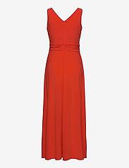 Lauren Ralph Lauren - Jersey Sleeveless Dress - sommerkjoler - bright hibiscus - 1