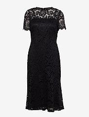 Lauren Ralph Lauren - Lace Cocktail Dress - midimekot - black - 0