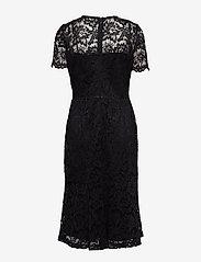 Lauren Ralph Lauren - Lace Cocktail Dress - midimekot - black - 1