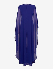 Lauren Ralph Lauren - Cape Georgette Jumpsuit - haalarit - cannes blue - 1