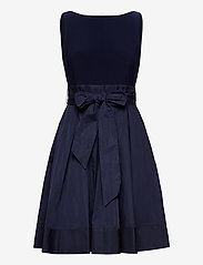 Lauren Ralph Lauren - Sleeveless Taffeta Dress - robes courtes - lighthouse navy - 0