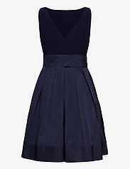 Lauren Ralph Lauren - Sleeveless Taffeta Dress - robes courtes - lighthouse navy - 1