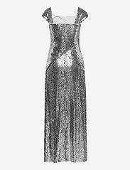 Lauren Ralph Lauren - Metallic Sequined Gown - kveldskjoler - liquid silver - 1
