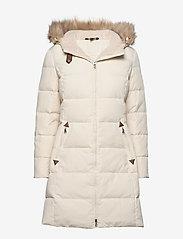 Lauren Ralph Lauren - Quilted Down Jacket - dunkåper - moda cream - 0