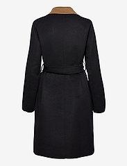 Lauren Ralph Lauren - Reversible Wool-Blend Coat - uldfrakker - dark navy/new vic - 2