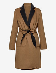 Lauren Ralph Lauren - Reversible Wool-Blend Coat - uldfrakker - dark navy/new vic - 3