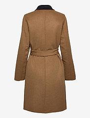 Lauren Ralph Lauren - Reversible Wool-Blend Coat - uldfrakker - dark navy/new vic - 4