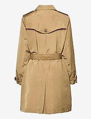 Lauren Ralph Lauren - Taffeta Trench Coat - trenchcoats - sand - 2