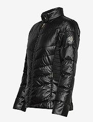 Lauren Ralph Lauren - Down Moto Jacket - doudounes - black - 3
