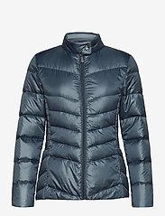 Lauren Ralph Lauren - Down Moto Jacket - doudounes - slate blue - 1