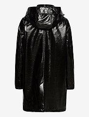 Lauren Ralph Lauren - Hooded Slicker Coat - regnjakker - black - 2