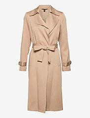 Lauren Ralph Lauren - Wrap-Style Duster Coat - trenchcoats - khaki - 0
