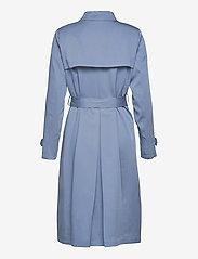 Lauren Ralph Lauren - Wrap-Style Duster Coat - trenchcoats - slate blue - 2