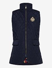 Lauren Ralph Lauren - Quilted Crest Vest - puffer vests - dark navy - 1