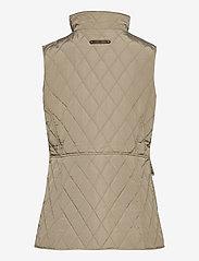 Lauren Ralph Lauren - Quilted Crest Vest - puffer vests - taupe - 2