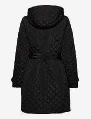 Lauren Ralph Lauren - Quilted Trench Coat - quiltede jakker - black - 3