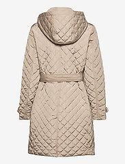 Lauren Ralph Lauren - Quilted Trench Coat - quiltede jakker - taupe - 3
