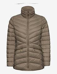 Lauren Ralph Lauren - Packable Quilted Down Jacket - forede jakker - taupe - 2