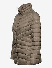 Lauren Ralph Lauren - Packable Quilted Down Jacket - forede jakker - taupe - 4