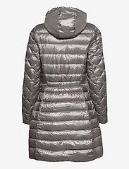 Lauren Ralph Lauren - Packable Quilted Down Coat - dynefrakke - silver - 4
