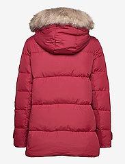 Lauren Ralph Lauren - Hooded Down Coat - forede jakker - chili - 3