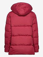 Lauren Ralph Lauren - Hooded Down Coat - forede jakker - chili - 4