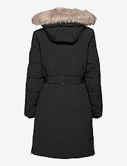 Lauren Ralph Lauren - Belted Hooded Down Coat - parkacoats - black - 3