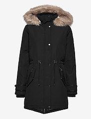Lauren Ralph Lauren - Hooded Parka Coat - parkacoats - black - 2