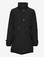 Lauren Ralph Lauren - Hooded Parka Coat - parkacoats - black - 3