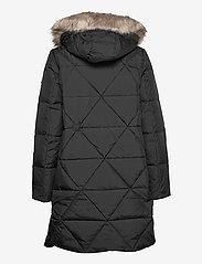 Lauren Ralph Lauren - Quilted Hooded Down Coat - dynefrakke - black - 2
