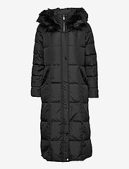 Lauren Ralph Lauren - Quilted Down Maxi Coat - padded coats - black - 1
