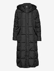 Lauren Ralph Lauren - Quilted Down Maxi Coat - padded coats - black - 2