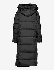 Lauren Ralph Lauren - Quilted Down Maxi Coat - padded coats - black - 3