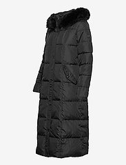 Lauren Ralph Lauren - Quilted Down Maxi Coat - padded coats - black - 4