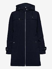 Lauren Ralph Lauren - Hooded Quilted-Bib Jacket - quiltede jakker - navy - 2