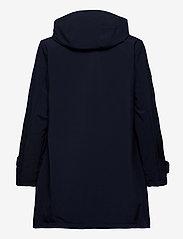 Lauren Ralph Lauren - Hooded Quilted-Bib Jacket - quiltede jakker - navy - 3